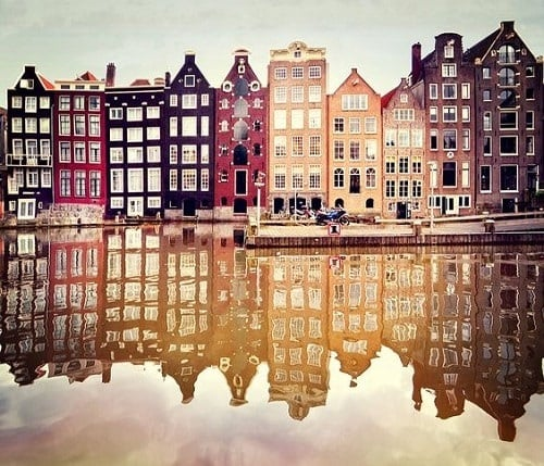 Canal d'Amsterdam - Pays-Bas