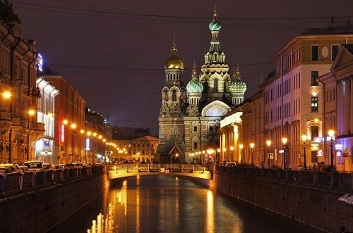 Canal de Moïka - Saint Pétersbourg