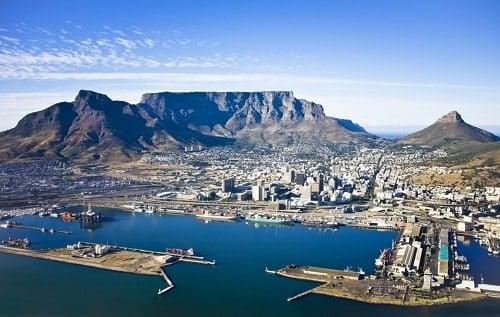 Montagne de la Table - Afrique du Sud