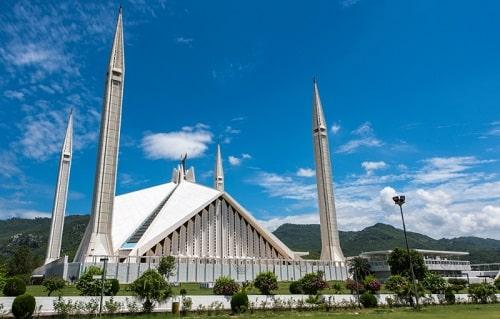 Mosquée de Faisal - Islamabad