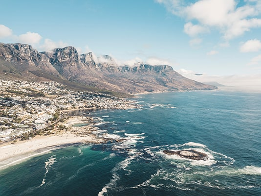 Dans quelle ville d'Afrique du Sud effectuer une professionnelle ?