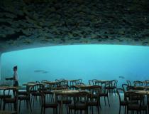 Un restaurant sous-marin à découvrir pendant ton stage en Norvège