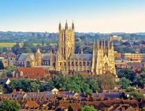 En route pour Canterbury en Angleterre