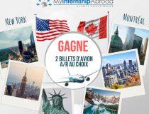 Les vacances ne sont pas finies ! Gagne un voyage à New-York ou à Montréal !